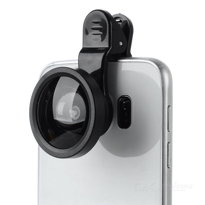 Universal 0.4X Wide-Angle Selfie Camera Lens w/ Clip for IPHONE ...