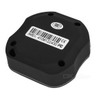 Waterproof Car Anti-Theft Positioning GPS/AGPS Tracker w/ Map - Black