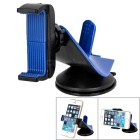 Creative Shape Universal 360' Rotation Car Mount Holder Bracket for Cell Phones - Blue + Black