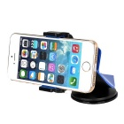 Universal 360' Rotation Car Mount for Cell Phones - Blue + Black