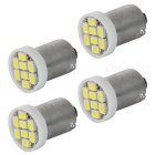 BA9S 0.3W LED Car Lamps Cool White 15532K 25lm 8-1210 SMD (4 PCS / 12V)