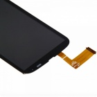 Digitalizador de vidro LCD touch screen para HTC T328W - preto