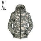 Men's Warm Breathable Jacket Coat - Camouflage (XL)
