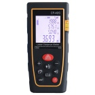 "CPTCAM CP-40S 1.8"" 40m Laser Distance Measuring Meter / Range Finder w/ Tripod - Yellow + Black"