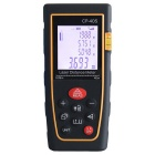 "CPTCAM CP-40S 1.8"" 40m Laser Distance Measuring Meter / Range Finder w/ Tripod - Black + Yellow"