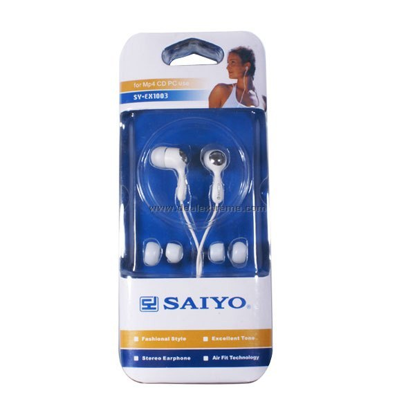 Saiyo In-Ear Earbuds (3.5mm) - Free Shipping - DealExtreme 76be4d16f3619