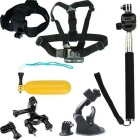 8-in-1 Sports Camera Accessories Kit for GoPro Hero 4 / 3 / 3+ / SJ4000 / SJ5000 / SJCam / Xiaoyi