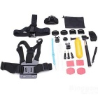 21-in-1 Sports Camera Accessories Kit for GoPro Hero 4 / 3 / 3+ / SJ4000 / SJ5000 / SJCam / Xiaoyi