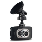 "2.7"" Full HD 1080P CMOS 170° Wide -Angle 3.0MP 4-LED Car DVR w/ IR Night Version / G-Sensor - Black"