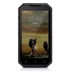 "Digoor DG2 Plus Waterproof 5"" IPS Android 4.4 Quad-Core 3G Rugged Phone w/ 8GB ROM, Wi-Fi - Black"
