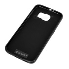 Mini Smile TPU Back Case Cover for Samsung Galaxy S6 - Black