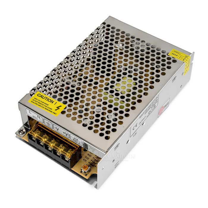 5A 60W Constant Voltage Switching Power Supply Transformer - SilverSwitching Power Supply<br>Power60WForm  ColorSilverMaterialAluminumQuantity1 DX.PCM.Model.AttributeModel.UnitRated Current5 DX.PCM.Model.AttributeModel.UnitRate Voltage12VWorking Temperature-20~60 DX.PCM.Model.AttributeModel.UnitWorking Humidity20%~90%RH (no condensing)Power AdaptornoPower AdapterWithout Power AdapterOther FeaturesInput: 110~120V 0.7A / 200~240V 0.3APacking List1 x Switching power supply<br>