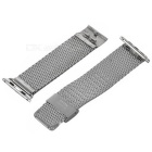 Mini Smile Coarse Mesh Watchband w/ Attachment for APPLE WATCH 42mm