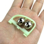 Luminous Fishing Accessories Bell Alarms - Grass Green + White (5PCS)