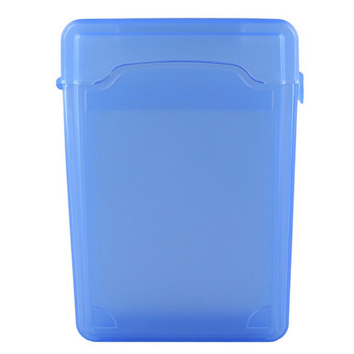 "Plastic Protective Case for 3.5"" SSD Hard Disk - Blue"