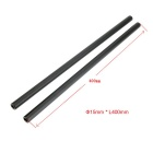 15 x 400mm Aluminum Alloy Rods for Camera Cage Rod Rails System (2PCS)