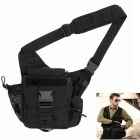 FREESOLDIER Multifunctional Outdoor Sports / Photography Messenger Bag w/ 9 Exterior Pockets - Black