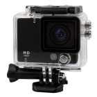 "Waterproof 2.0"" 1080P HD CMOS 3.0MP Car Camcorder / Sports Camera - Black"