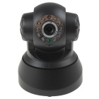 "CPTCAM 1/2.7"" CMOS 300KP H.264 P2P Wireless IP Camera w/ 10-IR-LED / Wi-Fi / TF - Black (US Plug)"