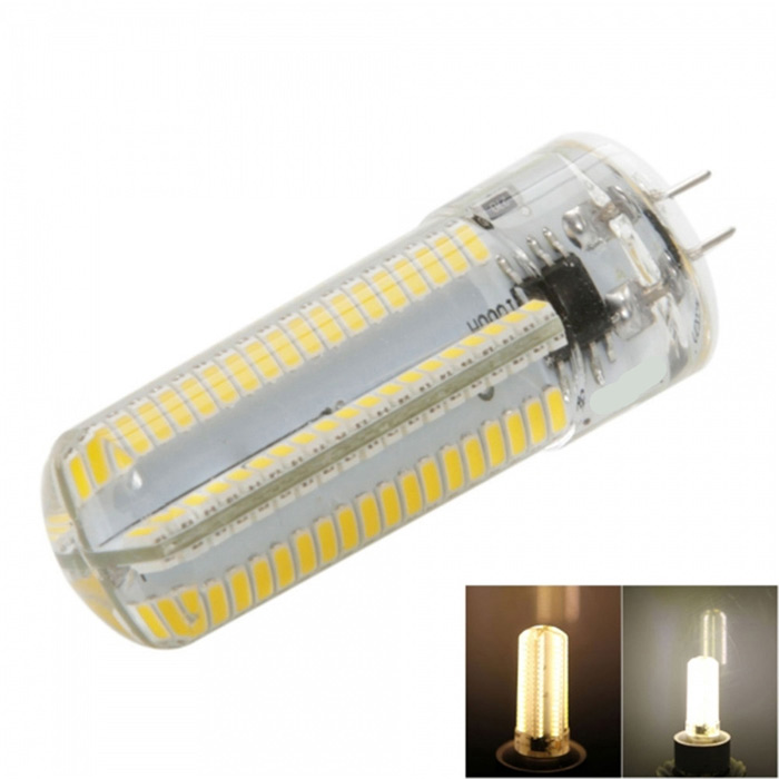 G4 7W LED Corn Bulb Warm White Light 3000K 840lm SMD 3014 (AC 110V)G4<br>Form  ColorWhite + Yellow + Multi-ColoredColor BINWarm WhiteMaterialSiliconeQuantity1 DX.PCM.Model.AttributeModel.UnitPower7WRated VoltageOthers,AC 110 DX.PCM.Model.AttributeModel.UnitConnector TypeG4Emitter TypeOthers,3014 SMD LEDTotal Emitters152Theoretical Lumens1520 DX.PCM.Model.AttributeModel.UnitActual Lumens840 DX.PCM.Model.AttributeModel.UnitColor Temperature3000KDimmableYesBeam Angle360 DX.PCM.Model.AttributeModel.UnitPacking List1 x LED corn light<br>