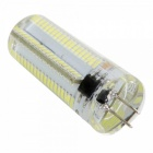 Dimmable G4 7W LED Corn Bulb Cold White Light 152-SMD (AC 110V)