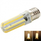 Dimmable E17 7W LED Corn Bulb Warm White Light 152-SMD 3000K (AC 110V)