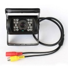 "150"" Wide-Angle 0.6MP Car Rearview Camera w/ IR Night Vision - Black"