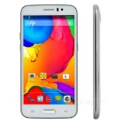 "JIAKE M6 Android 4.4.2 Dual-Core MTK6572 2-SIM Cellphone w/ 5.0"", 4GB ROM - White + Silver"
