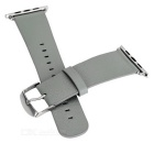 Micro Fiber Watchband w/ Band Attachments for APPLE WATCH 42mm - Grey