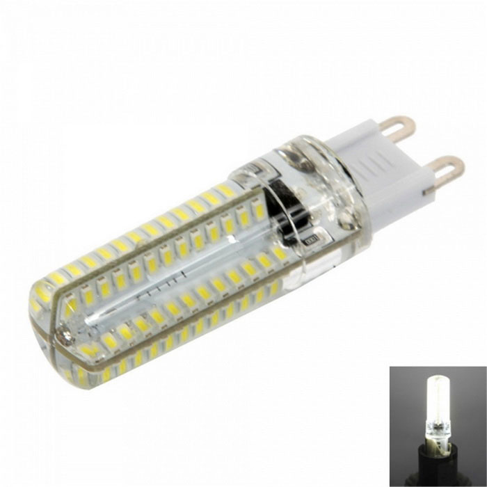 Dimmable G9 7W LED bulbo luz branca fresca 152-SMD 840lm (220 ~ 240V)