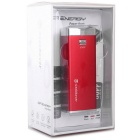GeekRover Universal 4400mAh Power Bank w/ LED Flashlight - Red