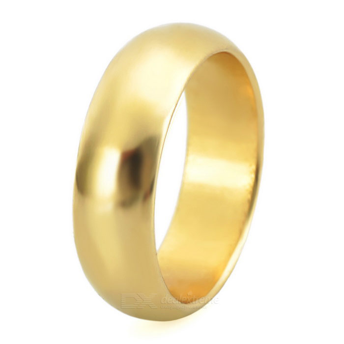 Magic Trick Prop Strong Magnetic Ring - Golden (Size: L)