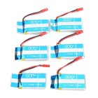 X6A-B04 750mAh Li-Polymer Batteries + Charger + More Set - Multicolor