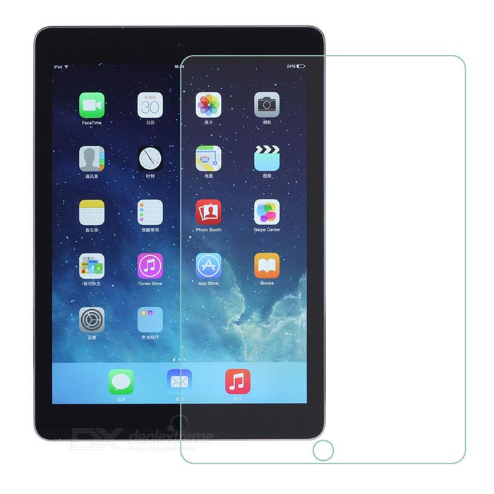 Clear Tempered Glass Screen Protector for IPAD AIR / 5