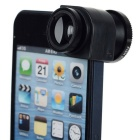 3-in-1 Wide-Angle + Fish Eye + Macro Camera Lens Kit for IPHONE 5 / 5S - Black