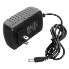 100~240V to DC 12V Power Supply Adapter Transformer - Black (US Plug)