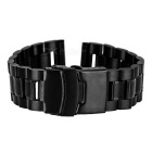 Stainless Steel Watch Band for APPLE WATCH 38mm - Black