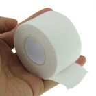 Full Cotton Serrated Side Sports Tape Bandage - White (3.8cm*10m)