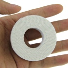 Full Cotton Serrated Side Sports Tape Bandage - White (2.5cm*10m)