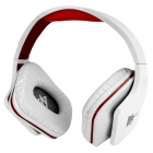 OVLENG Universal 3.5mm Headband Headphone Headset w/ Remote & Microphone for Computer - White