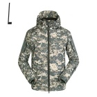 Men's Autumn & Winter Outdoor Water-Resistant Warm Loose Jacket Coat - Camouflage (L)