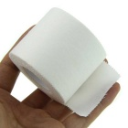 Full Cotton Serrated Side Sports Tape Bandage - White (5cm*10m)