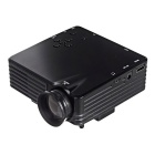 Vivibright GP7S Mini Home LED Projector w/ VGA / AV / SD / USB / HDMI / DC In - Black