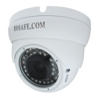 HOSAFE 2MD3W 1080P 2.0MP Dome Outdoor IP Camera - White (US Plugs)