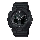Genuine Casio G-Shock Limited Model GA-100MB-1AER Men's Analog-Digital Watch - Black