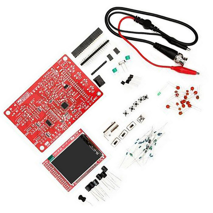 Digital oscilloscope kit smd soldered version electronic