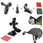 37-in-1 Sports Camera Accessories Kit for GoPro Hero 4 3+ 3 2 1- Black