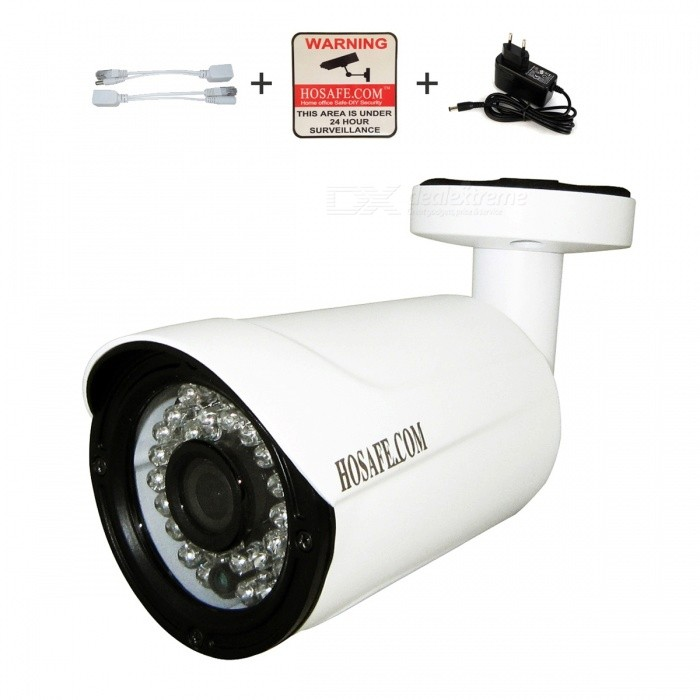 HOSAFE 2MB7W 2.0MP 1080P HD IP-камера с 36-IR-LED - белый (EU Plug)