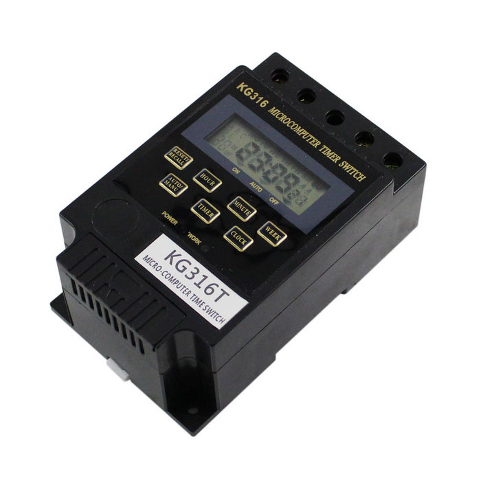 Light Controller With Timer: KG316T Micro-Computer Timer Switch Street Light Controller