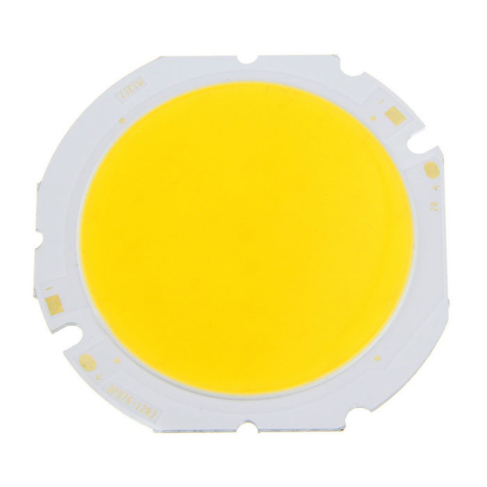 36-Chipset 20W Warm White COB LED Light Source for Spotlight - Yellow